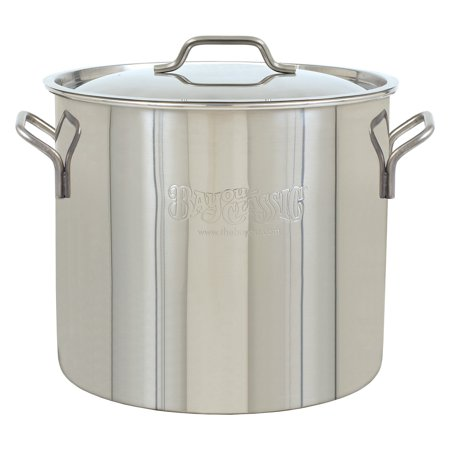 Bayou Classic 40 qt Brew Kettle Stainless Steel (Bayou Classic Iron)