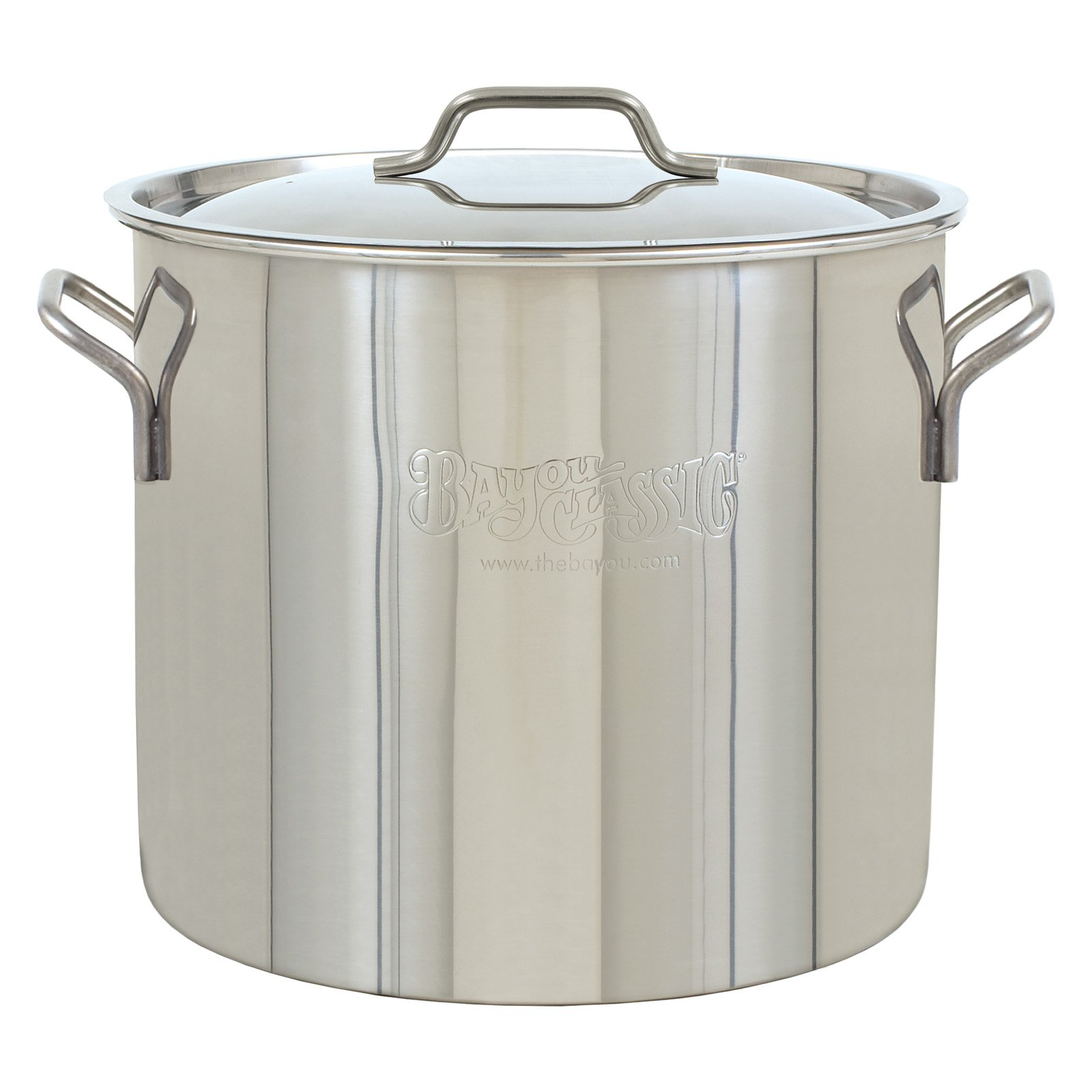 Bayou Classic 40 qt Brew Kettle Stainless Steel Stockpot