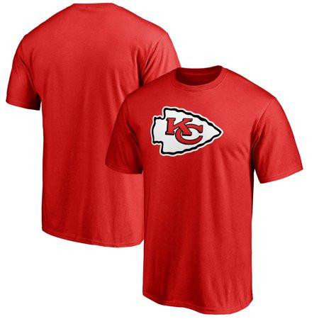 Kansas City Chiefs NFL Pro Line Big & Tall Primary Logo T-Shirt - Red