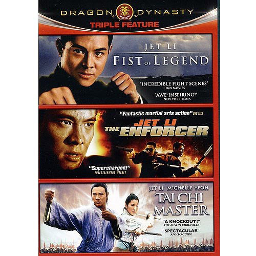 Dragon Dynasty Triple Feature-Jet Li Collection
