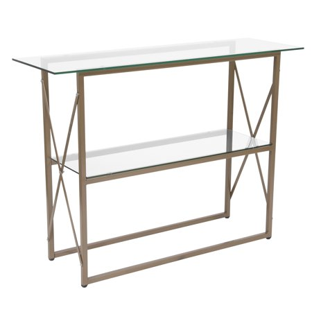 Mar Vista Collection Console Table with Metal Frame ()