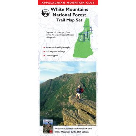 AMC White Mountains National Forest Trail Map Set (Best Hikes In White Mountain National Forest)