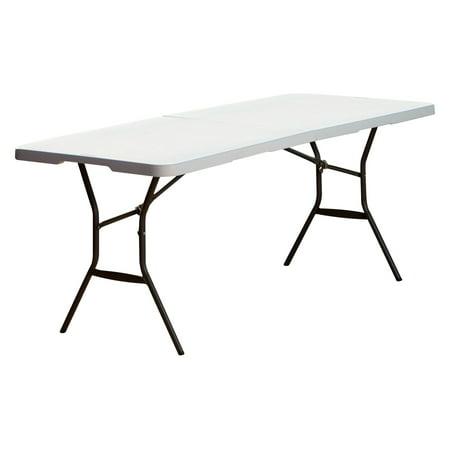 Lifetime 6' Fold-In-Half Table, White -