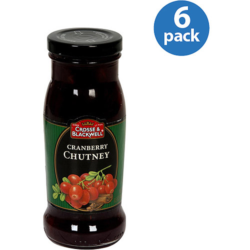 Crosse & Blackwell Cranberry Chutney, 8.5 oz, (Pack of 6) by Generic