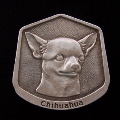 Chihuahua Fine Pewter Dog Breed Ornament