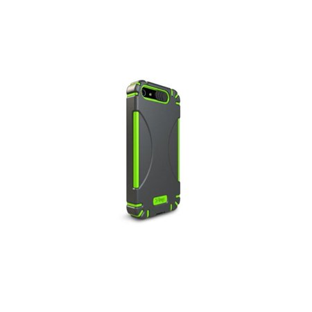 Ifrogz Luxe Original Case - iFrogz Bullfrogz Hard Cover Case for iPod Touch 5th Generation Black/Green