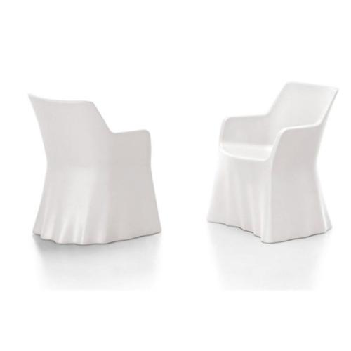 Domitalia Phantom ArmChair In White Images