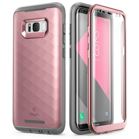 new style 4934f 54e6e Samsung Galaxy S8 Case, Clayco [Hera Series] [Updated Version] Full-body  Rugged Case with Built-in Screen Protector for Samsung Galaxy S8 (2017 ...