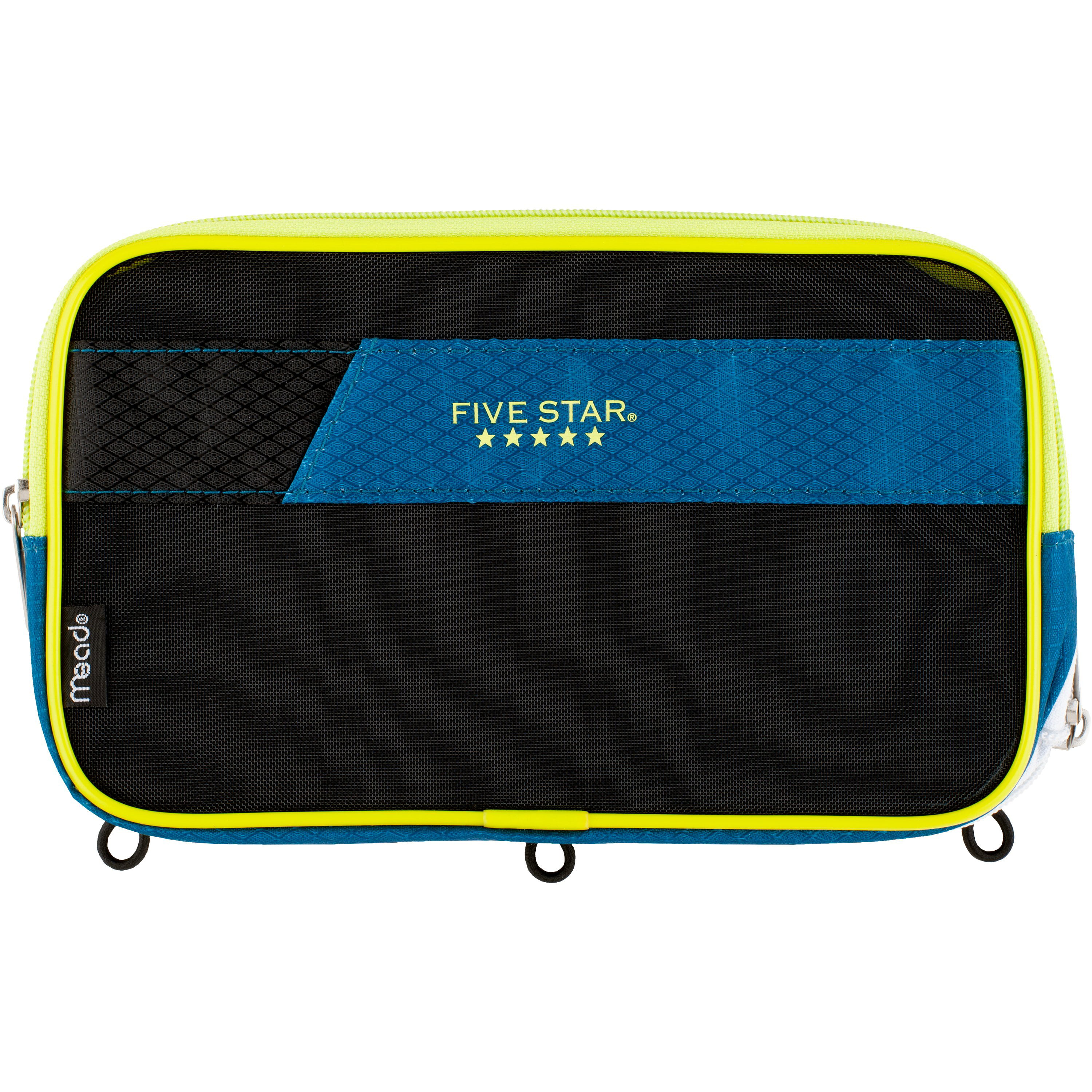 Five Star Xpanz Pencil Pouch, Polyester, Assorted Colors (50211)