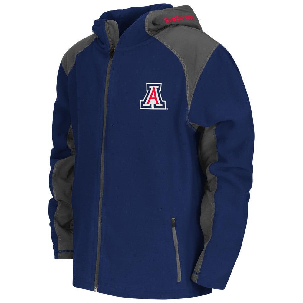 Arizona Wildcats Youth Jacket Halfpipe Hooded Fleece by Colosseum