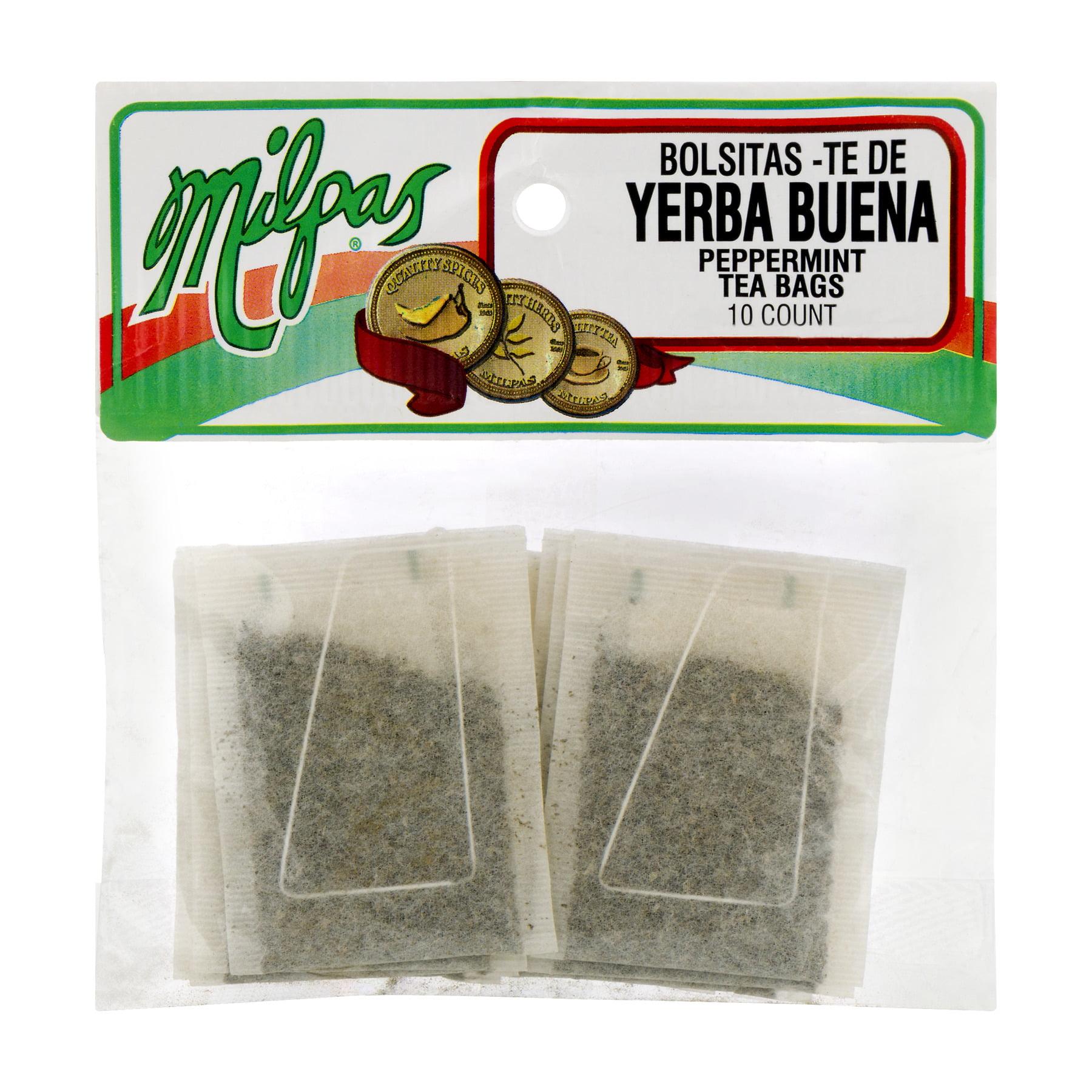 Milpas Peppermint Tea Bags - 10 CT10.0 CT