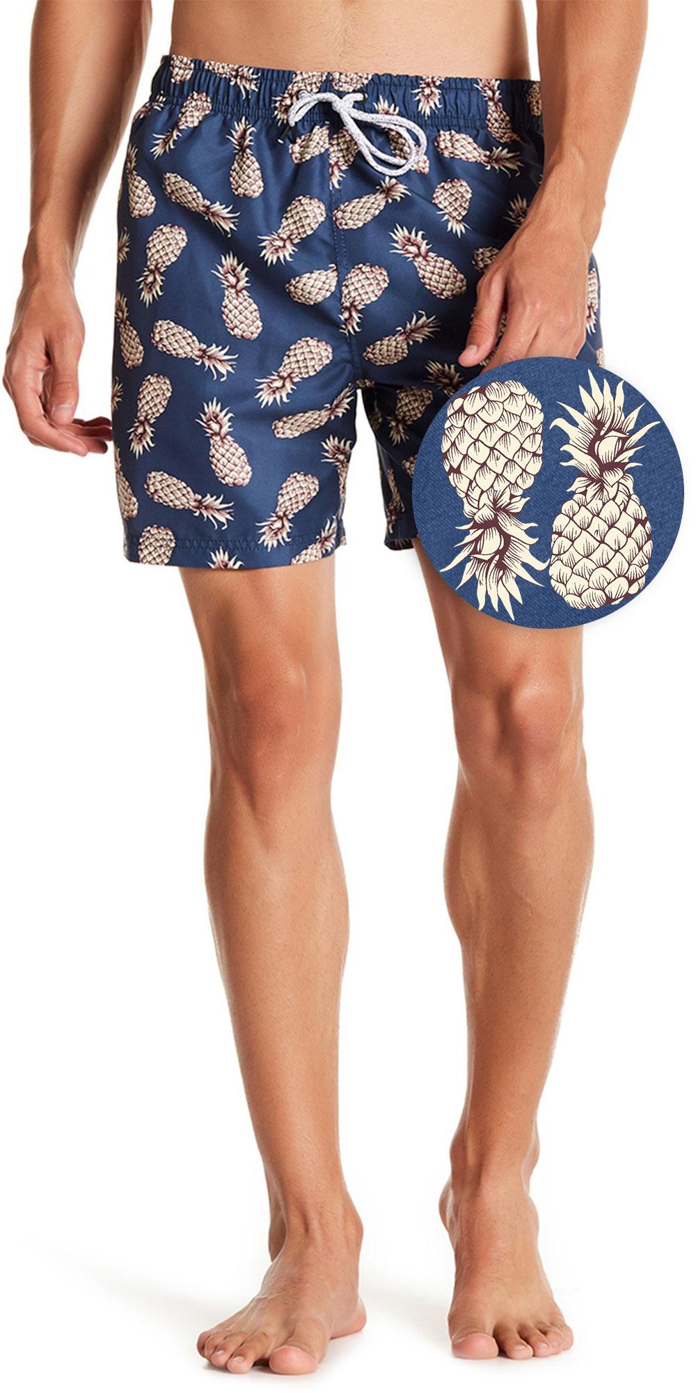 Swim Trunks Yoga Shorts Pineapple Shorts Festival Shorts Gym Shorts Mens Workout Shorts Men/'s Shorts Swimwear