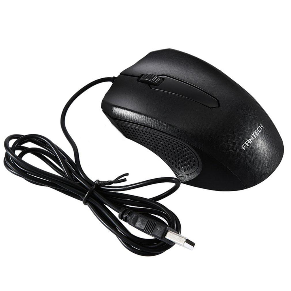 3D USB Optical Scroll Wheel Mice Mouse 1000DPI for Desktop Laptop PC New