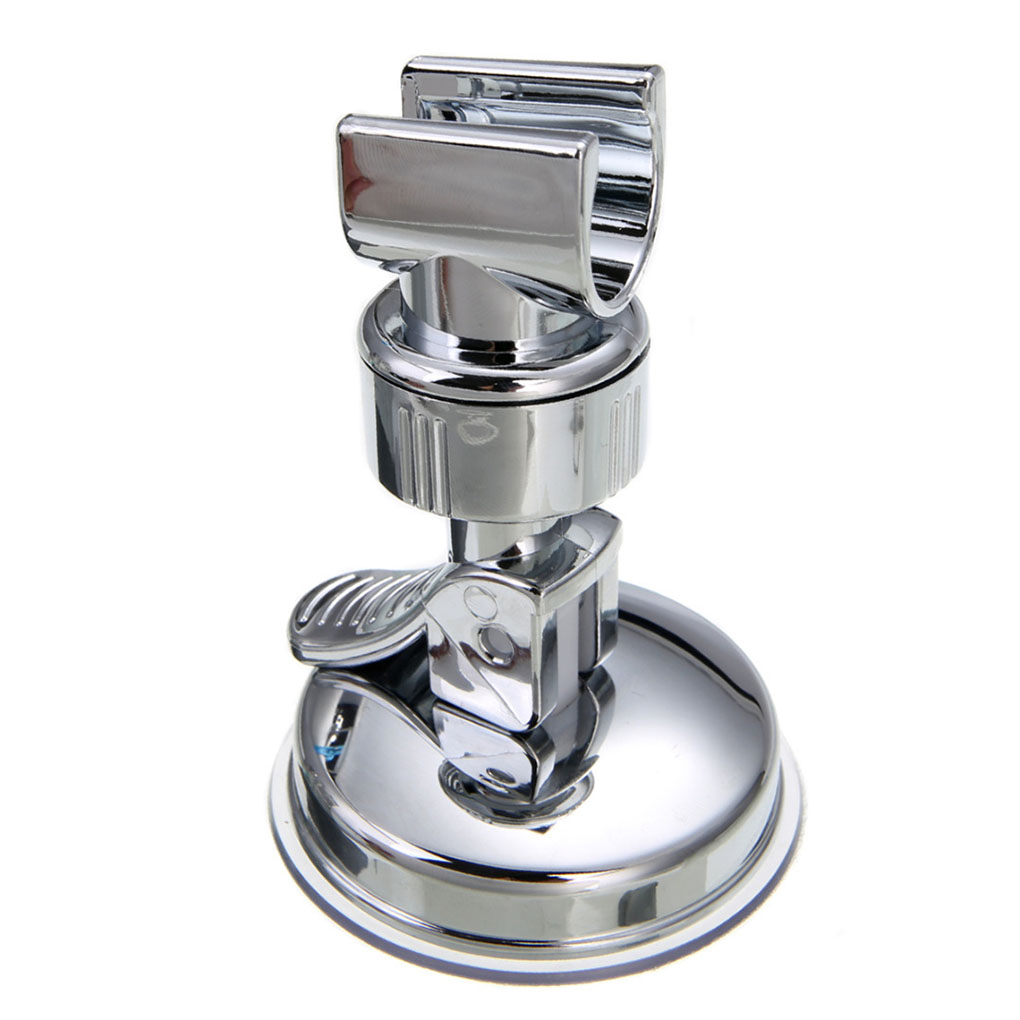 New Adjustable Shower Head Holder Bathroom Suction Cup Wall Mount Bracket Holder