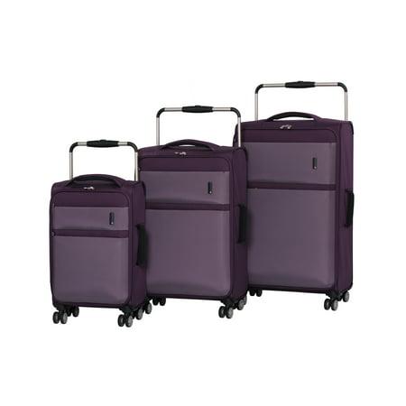 e07e9ca2c it luggage - it luggage Worlds Lightest Debonair 3pc Softside Luggage Set -  Walmart.com
