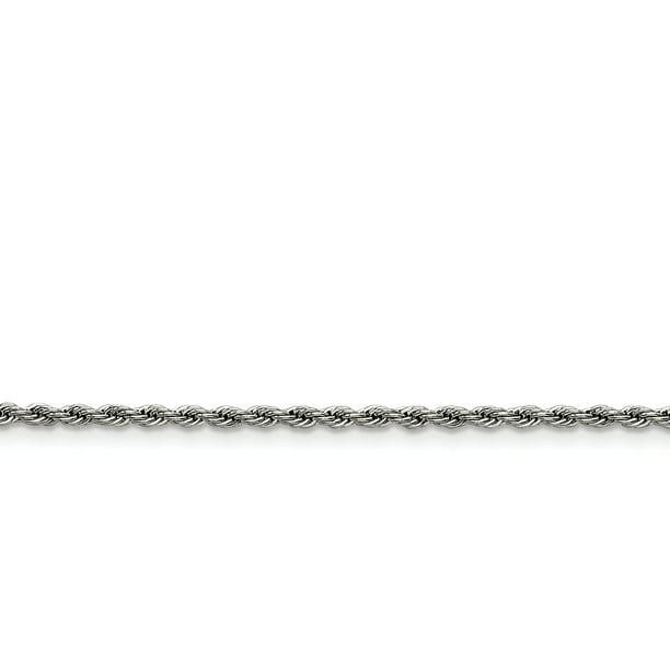 DanLingJewelry Cha/îne dextension 100 rangs en acier inoxydable 304 Longueur 3,8 /à 5,9 cm pour fabrication de bijoux