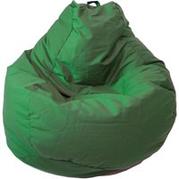 Gold Medal Bean Bags Tear Drop Demin Look Bean Bag with Pocket, Large, Tie Dye
