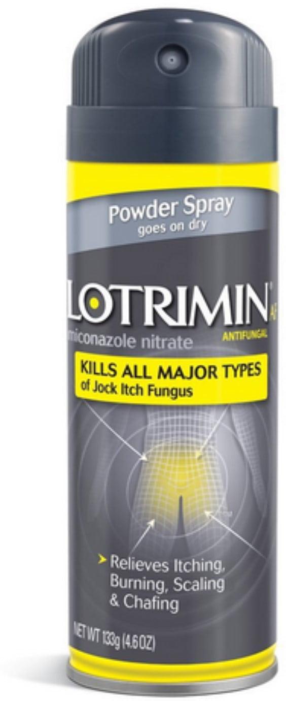 Lotrimin AF Jock Itch Powder Spray 4.60 oz (Pack of 2) by