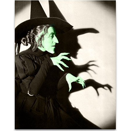 Wizard of OZ Wicked Witch of the West Art Print - 11x14 Unframed Patent Print - Great Gift for Fans of The Wizard of Oz - Walmart.com