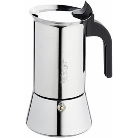 Bialetti Venus Stainless Steel Stylish Cuban Coffee Maker 6 Cups