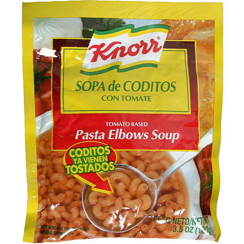 Knorr Tomato Based Elbow Pasta Soup Mix, 3.5 oz (Pack of 12)