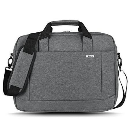 731f0a5e0fc4 Voova 15.6 inch Laptop Shoulder Bag Expandable Large Capacity Briefcase  Adjustable Shoulder Strap for Business Travel Multi-function Shockproof  Case ...