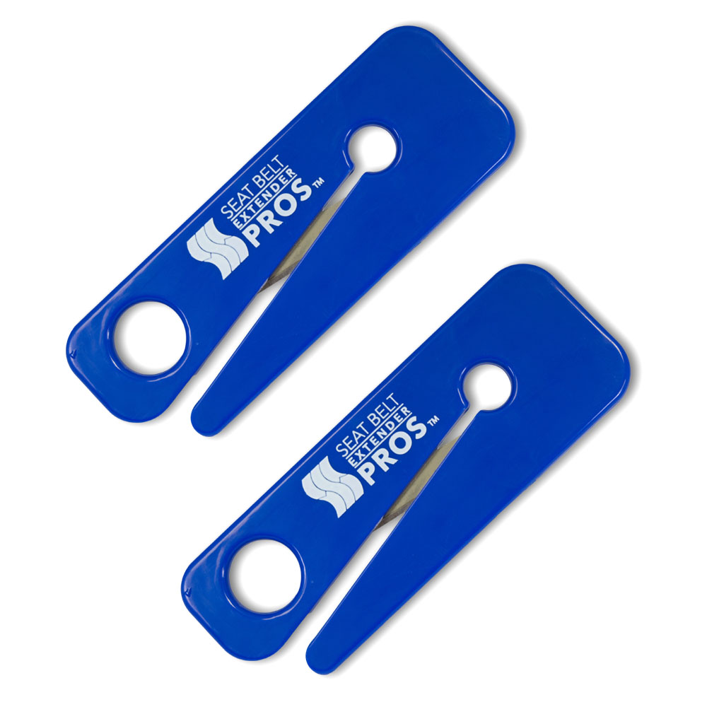 Seat Belt Cutter 2-Pack - Quick escape from your car in an emergency