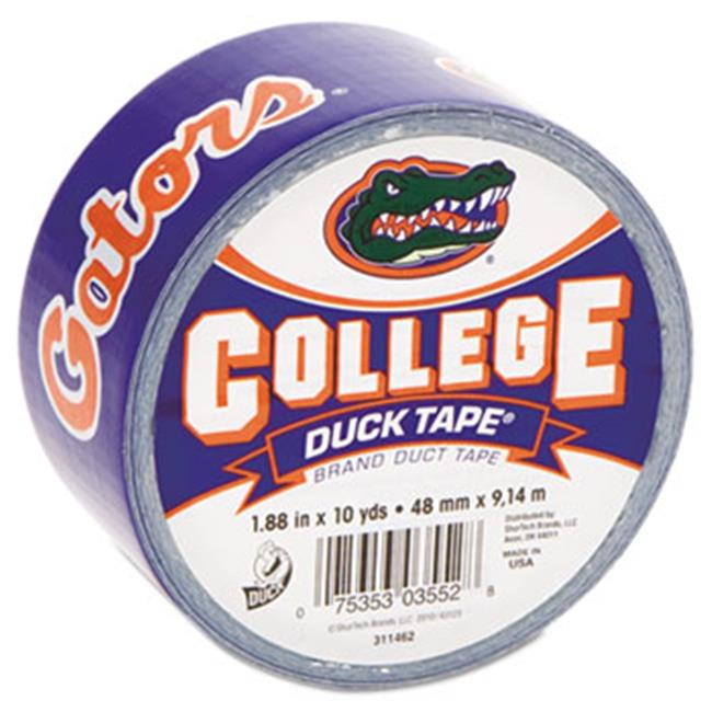 Duck.  240264 College DuckTape, University of Florida Gators, 1. 88'' x 10 yds, 3'' Core