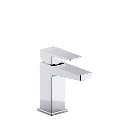 Kohler K-99760-4-CP Honesty Single Control Lavatory Faucet, Polished Chrome