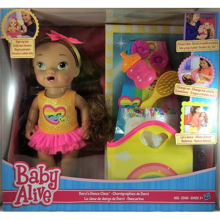 Baby Alive Darci S Dance Class Doll Brunette Walmart Com
