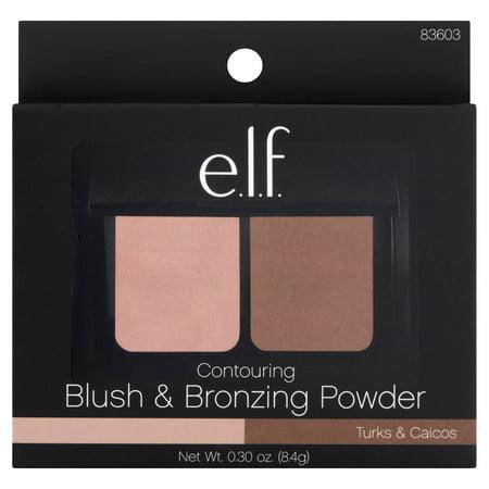 e.l.f. Turks & Caicos Contouring Blush & Bronzing Powder, 0.30 oz