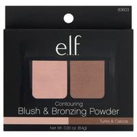 e.l.f. Contouring Blush & Bronzing Powder, Turks & Caicos