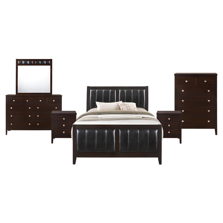 Picket House Furnishings Luke Full Panel 6pc Bedroom Set