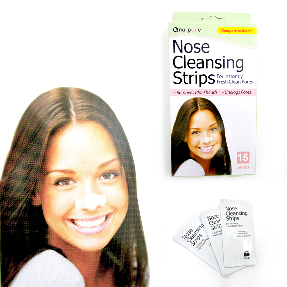 15 Nu-Pore Deep Cleansing Nose Strips Blackhead Removal Pore Fresh Clean Cleaner