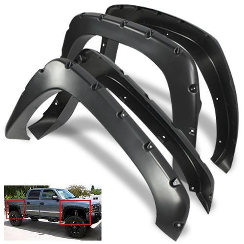 Rear Bumper For Sierra 1500 HD 01-06 Painted Black Steel