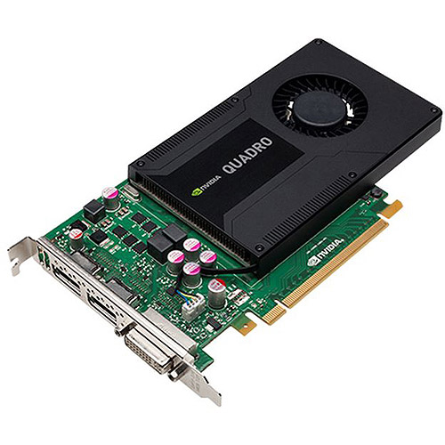 PNY Technologies Quadro K2000 PCIE Graphics Card