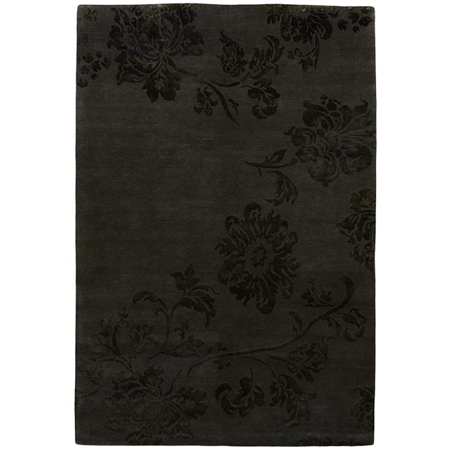 Due Process Stable Trading Adaptations Lotus Walnut Area Rug, 9 x 12 ft.
