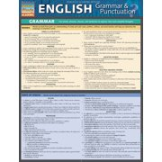 BarCharts 9781423218654 English Grammar & Punctuation Quickstudy Easel
