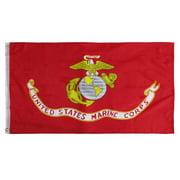 US Marine Corps Semper Fi 3x5 Foot Flag 3'x5' Ft Yard Banner USMC Marines Flags