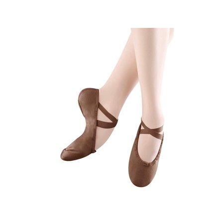 Ballet Canvas Pumps (Bloch Dance Women's Pump Canvas Split Sole Ballet Shoe/Slipper)