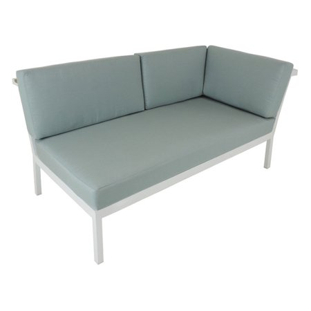 Patio Heaven Riviera Geo Patio Right Arm Sectional with Sunbrella Cushions ()