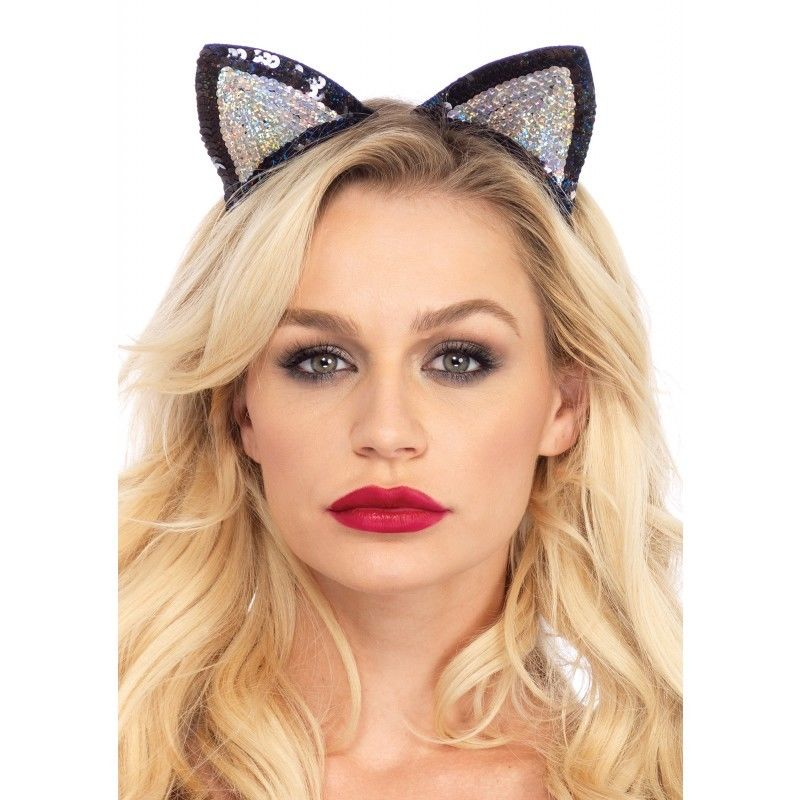 Leg Avenue Sequin Cat Ears