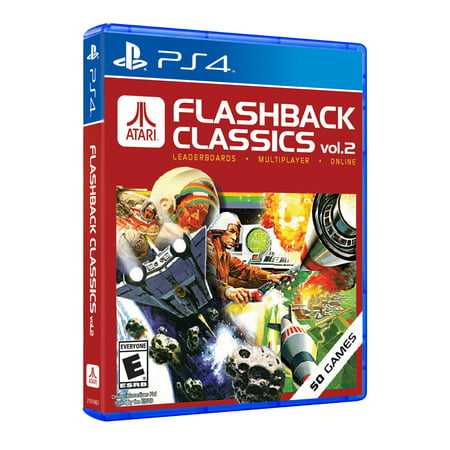 Atari Flashback Vol 2, Atari, Playstation 4, 742725911581