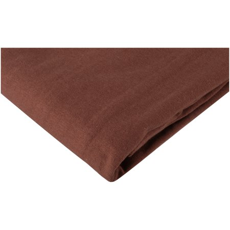 American Baby Company 100% Cotton Value Jersey Knit Fitted Portable/Mini-Crib Sheet, Chocolate