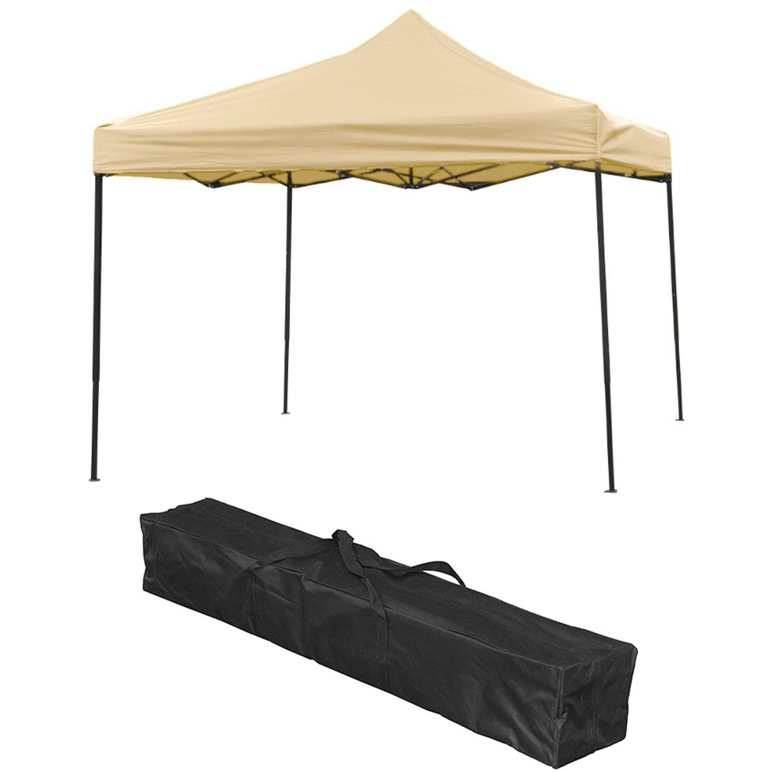 Lightweight and Portable Canopy Tent Set, 10' x 10', By Trademark Innovations