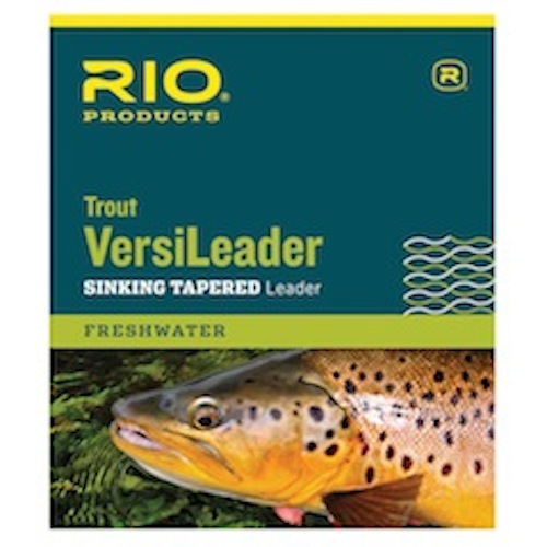 Rio Trout Versileader Sinking Tapered Leader - 12ft 12lb - Fly Fishing