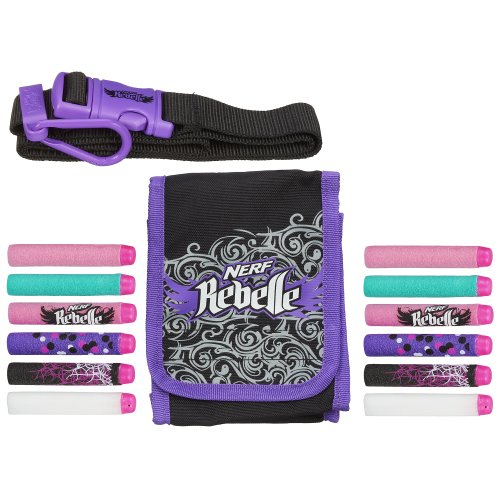 Hasbro Nerf Rebelle Dart Diva Bag and Belt