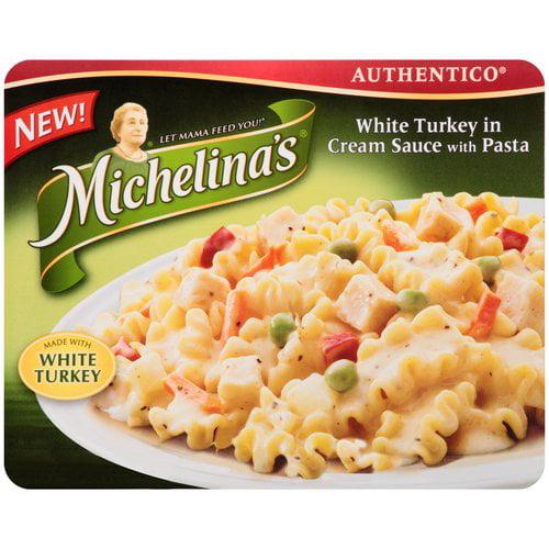Michelina;s White Turkey in Cream Sauce with Pasta, 8 oz