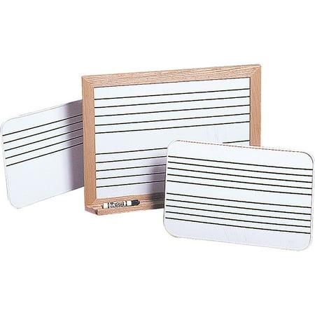 Original Lap Frame - Vecchio Music Stave Lap Boards 18 x 24 with 2 Staves, Oak Frame, Porcelain B