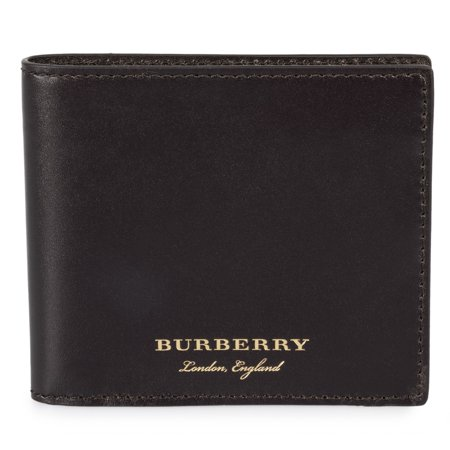 Burberry Trench Brown Smooth Leather Hipfold Wallet